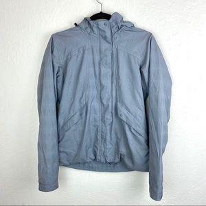 Nau Transitional Rain Jacket Small Grey